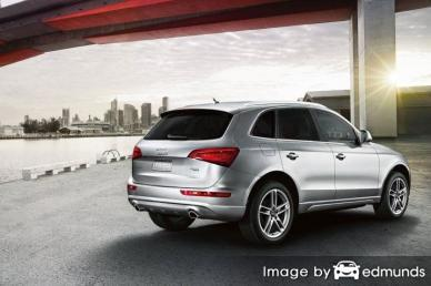 Insurance rates Audi Q5 in Stockton