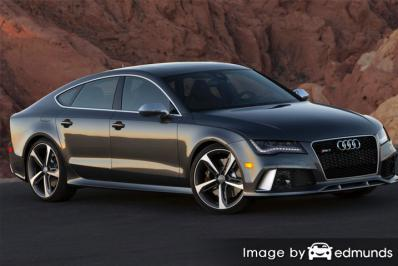 Insurance quote for Audi RS7 in Stockton