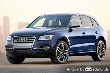 Insurance rates Audi SQ5 in Stockton