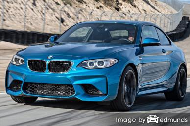 Insurance quote for BMW M2 in Stockton
