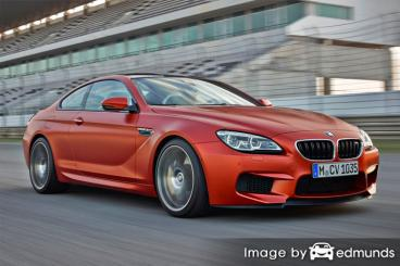 Insurance quote for BMW M6 in Stockton
