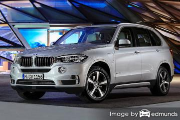 Insurance rates BMW X5 eDrive in Stockton
