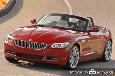 Insurance rates BMW Z4 in Stockton