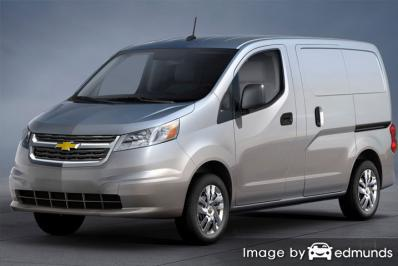 Insurance quote for Chevy City Express in Stockton