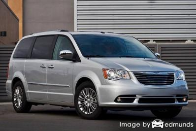 Insurance quote for Chrysler Town and Country in Stockton