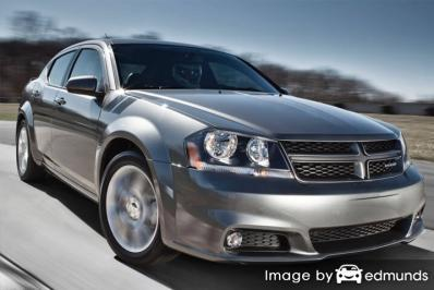 Insurance rates Dodge Avenger in Stockton