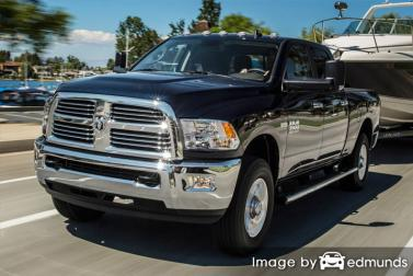 Insurance quote for Dodge Ram 3500 in Stockton