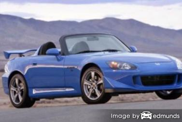 Insurance rates Honda S2000 in Stockton