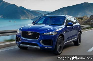 Insurance quote for Jaguar F-PACE in Stockton