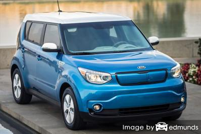 Insurance quote for Kia Soul EV in Stockton