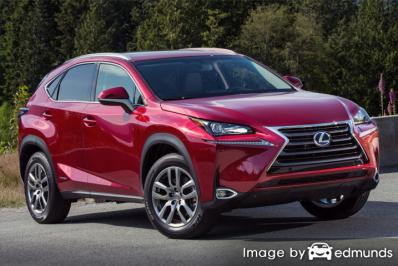 Insurance quote for Lexus NX 300h in Stockton