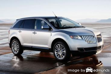 Insurance rates Lincoln MKT in Stockton