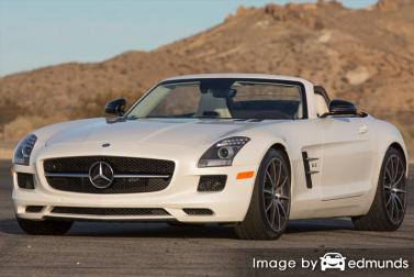 Insurance quote for Mercedes-Benz SLS AMG in Stockton
