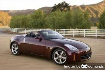 Insurance rates Nissan 350Z in Stockton