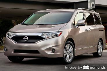 Insurance rates Nissan Quest in Stockton