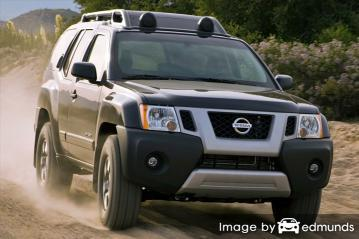 Discount Nissan Xterra insurance