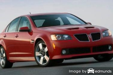 Insurance quote for Pontiac G8 in Stockton