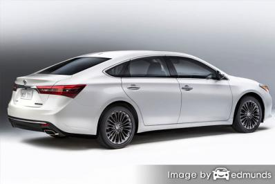 Insurance for Toyota Avalon Hybrid