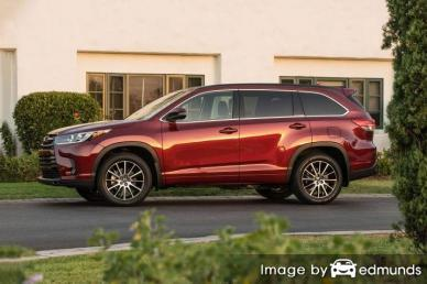Insurance quote for Toyota Highlander in Stockton