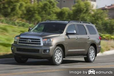 Insurance rates Toyota Sequoia in Stockton